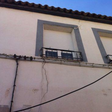 grieta en fachada